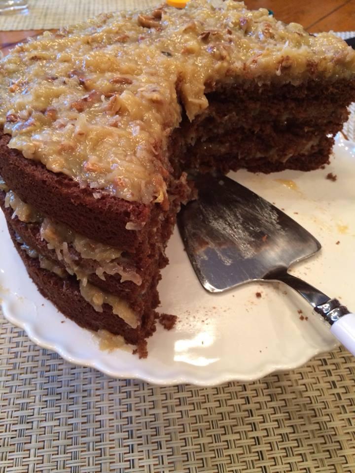 how to prepare chocolate cake in telugu